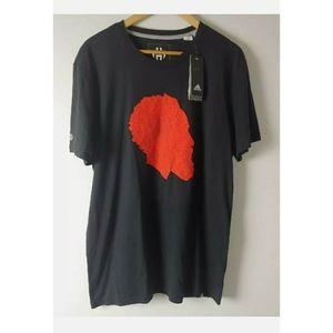 NWT Adidas Climalite Mens T Shirt James Harden XL